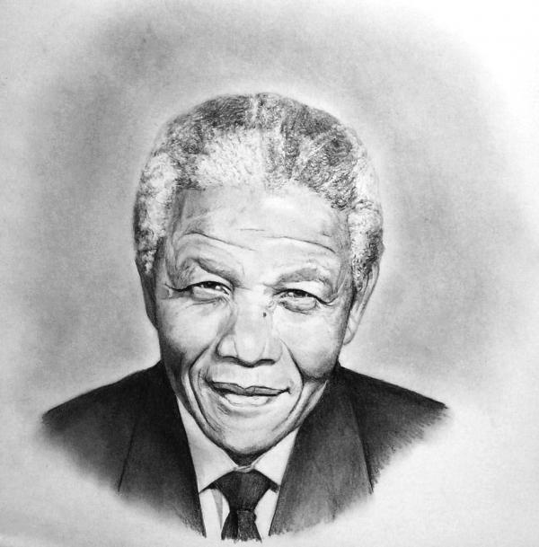 Nelson Mandela par akalinz
